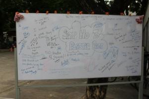 Cloth Bag & Pledge Wall Campaign